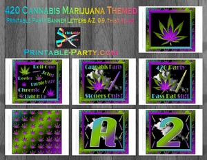 420-marijuana-cannabis-theme-party-banner