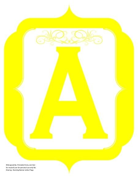 fancy-yellow-printable-banners-letters-numbers