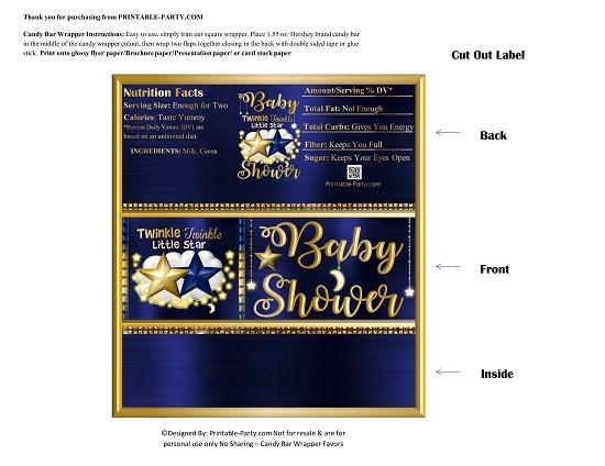 printablecandybarbabyshower-twinkle-little-stars-dark-blue-gold