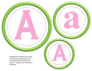 6-inch-green-apple-baby-pink-circle-printable-banner-letters-numbers-a-z-0-9