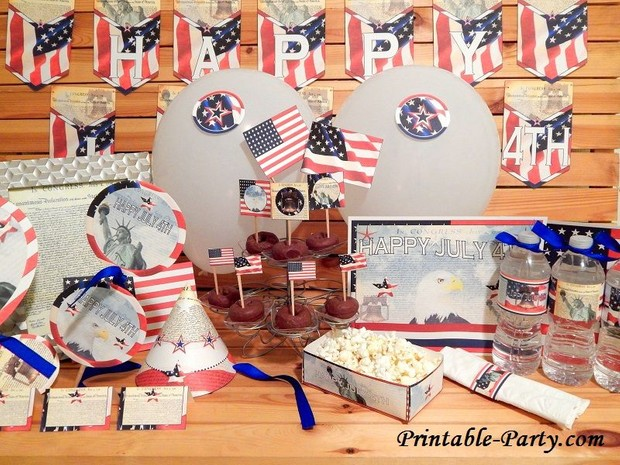 Happy-July-4th-printable-party-decorations