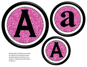 6-inch-black-pink-glitter-circle-printable-banner-letters-numbers-a-z-0-9