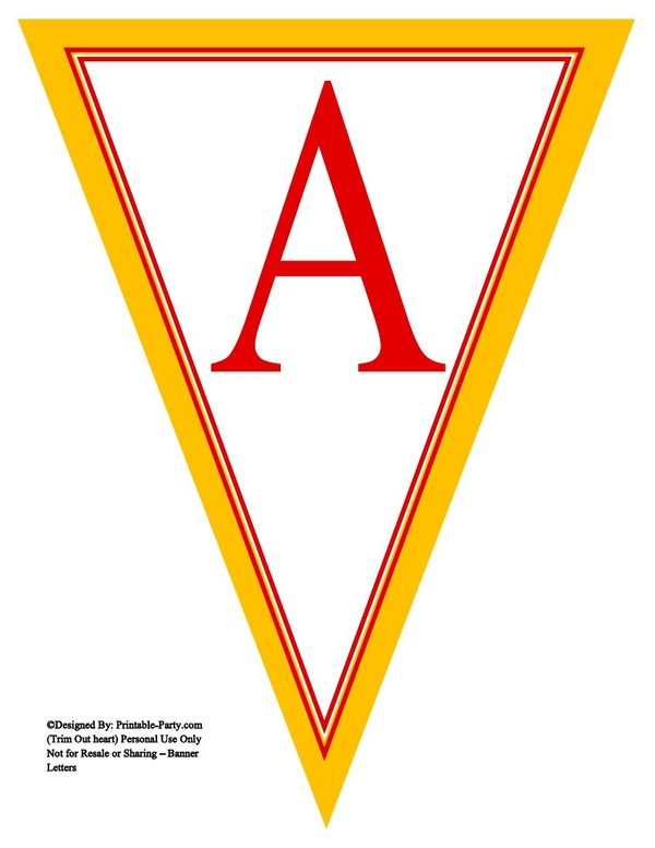 yellow-red-triangle-pennant-banner-printable-alphabet-letters-a-z