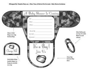 camouflage-dog-tag-grey-diaper-boy-baby-shower-invitation