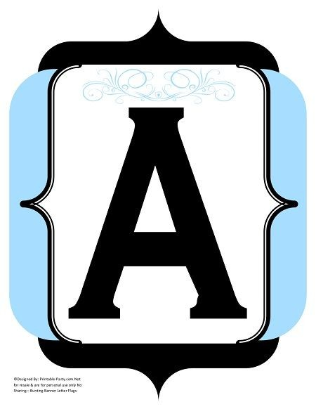 fancy-black-light-blue-printable-banners-letters-numbers