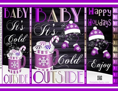 printable-chip-gift-bags-Christmas-its-cold-outside-purple-white-hot-cocoa