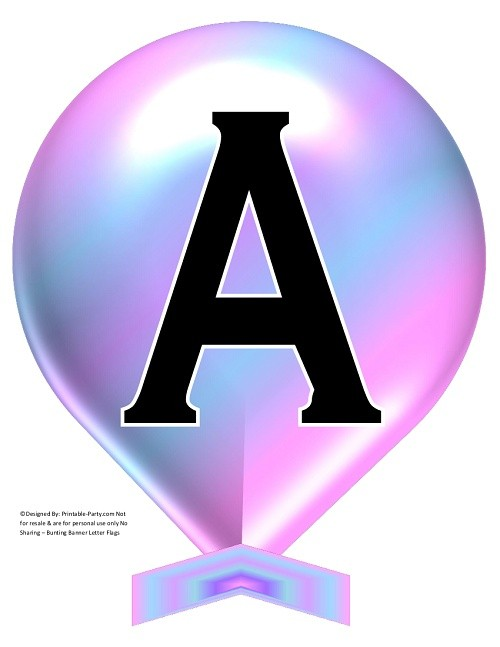 LARGE-COTTON-CANDY-BALLOON-PRINTABLE-BANNER-LETTERS-A-Z-0-9
