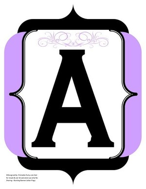 fancy-black-lavender-printable-banners-letters-numbers