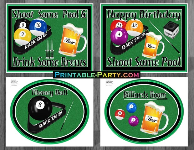 Pool-and-Brews-Billiards-themed-party-supplies