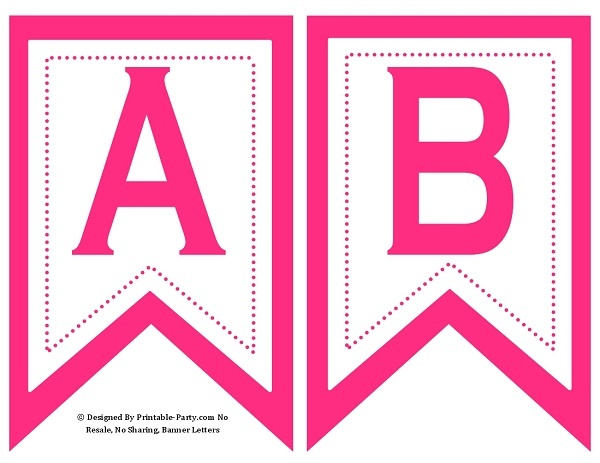 graphic about Banner Printable identified as 5-inch-swallowtail-warm-red-printable-banner-letters-a-z-0-9