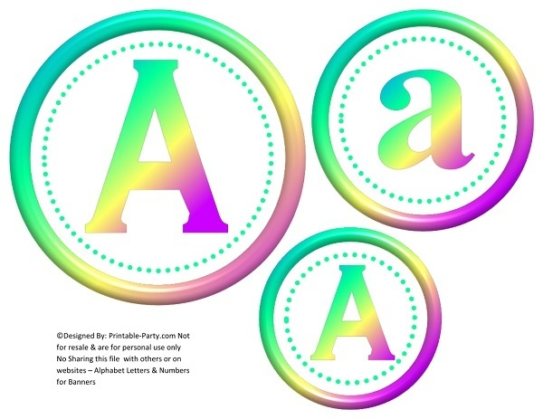 6-inch-green-rainbow-circle-printable-banner-letters-numbers-a-z-0-9