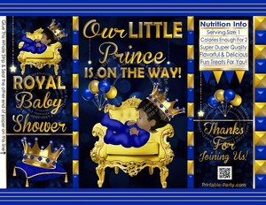 POTATO-chip-cookie-treat-favor-bags-personalized-royal-PRINCE-BABY-SHOWER