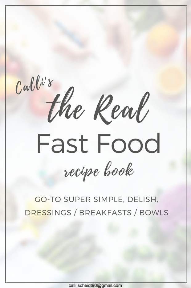 The Real Fast Food Recipe Book