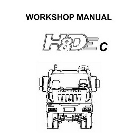 ASTRA HD8Ec Truck Repair Service Workshop Manual