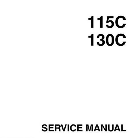 Yamaha Marine 115C, 130C Outboards Repair Service Manu