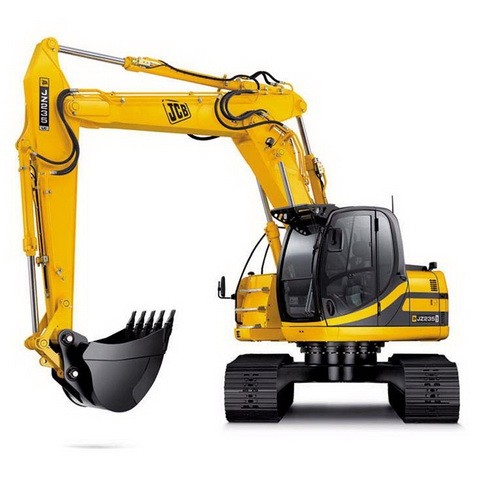 JCB JZ235, JZ255 Tracked Excavator Repair Service Manual