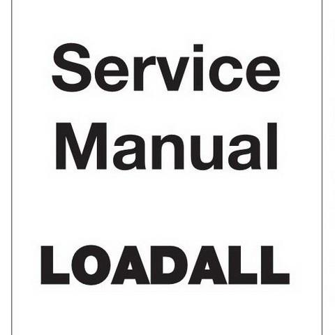 JCB 504, 526 Loadall Repair Service Manual (N.America)