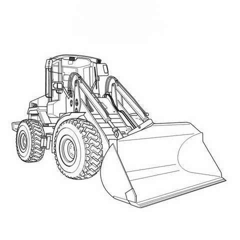 JCB 411, 416 Wheeled Loading Shovel Repair Service Manual - 9803/4150-16