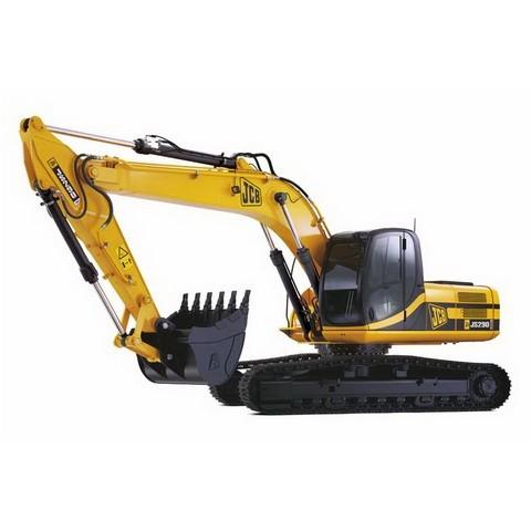 JCB JS290 Tracked Excavator Repair Service Manual