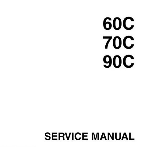 Yamaha Marine 60C, 70C, 90C Outboards Repair Service Manual