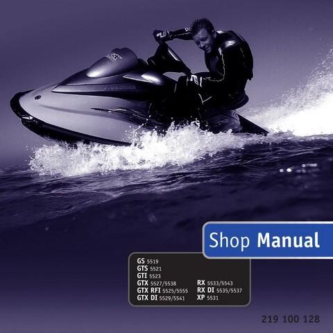 Sea-Doo GS, GTS, GTI, GTX, GTX RFI, GTX DI, XP, RX, RX DI Models PWC Service Repair Shop Manual 2001