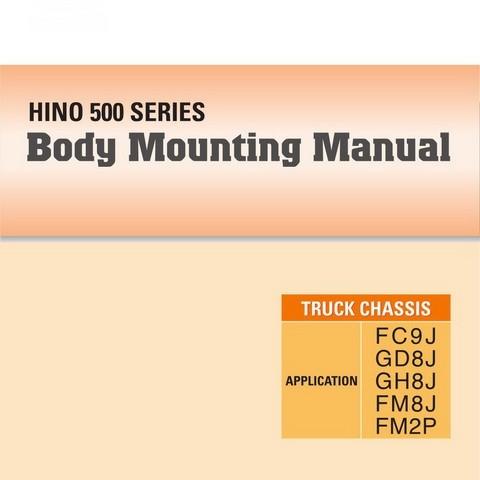 HINO 500 Series Trucks Body Mounting Manual