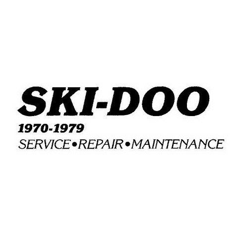 Ski-Doo Snowmobiles Service Repair Maintenance Manual