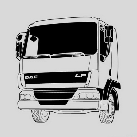 DAF Trucks LF45 LF55 Workshop Service Repair Manual /& Wiring Diagrams