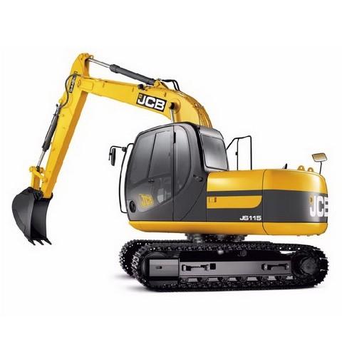 JCB JS115, JS130, JS145 Tracked Excavator Repair Service Manual