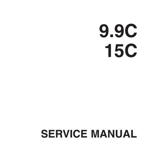 Yamaha Marine 9.9C/15C Outboards Repair Service Manual