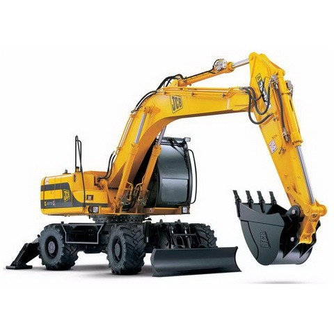 JCB JS175W Auto Wheeled Excavator Repair Service Manual