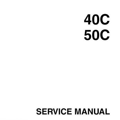 Yamaha Marine 40C, 50C Outboards Repair Service Manual