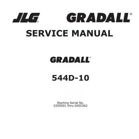 JLG Gradall 544D-10 Materials Handler ANSI Maintenance and Service Manual
