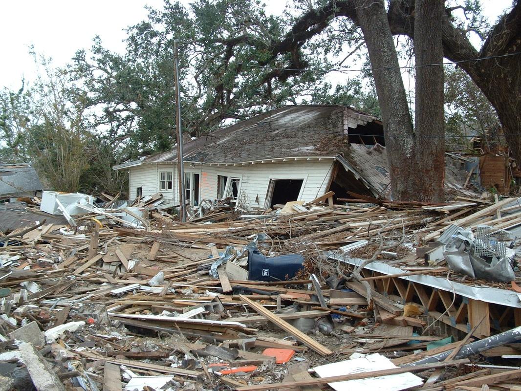 hurricane katrina damage - HD1066×800