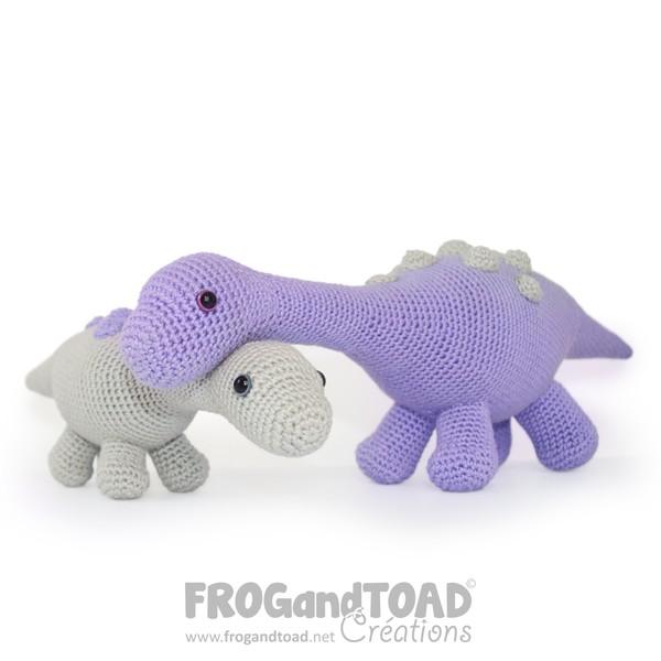 Magyarosaurus - Dinosaur Amigurumi Crochet - FROGandTOAD Créations