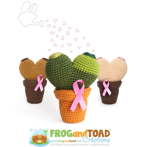 Octobre Rose - BOOBY CACTUS - FROGandTOAD Créations©