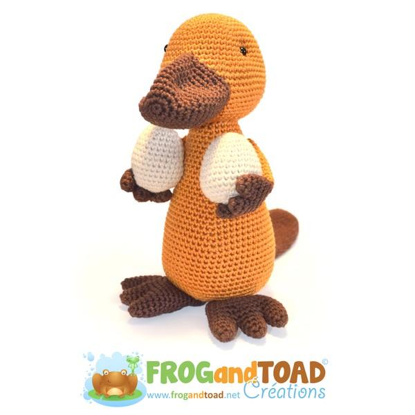 Papa PAYO - Ornithorynque / Platypus - PDF - Amigurumi Crochet - FROGandTOAD Créations