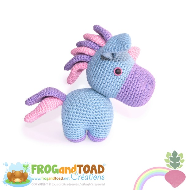 PROSPER - la licorne / the unicorn - FROGandTOAD Créations ©