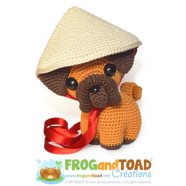 Ping le the Pug - Zodiaque / Zodiac - Chien / Dog - FROGandTOAD Créations ©