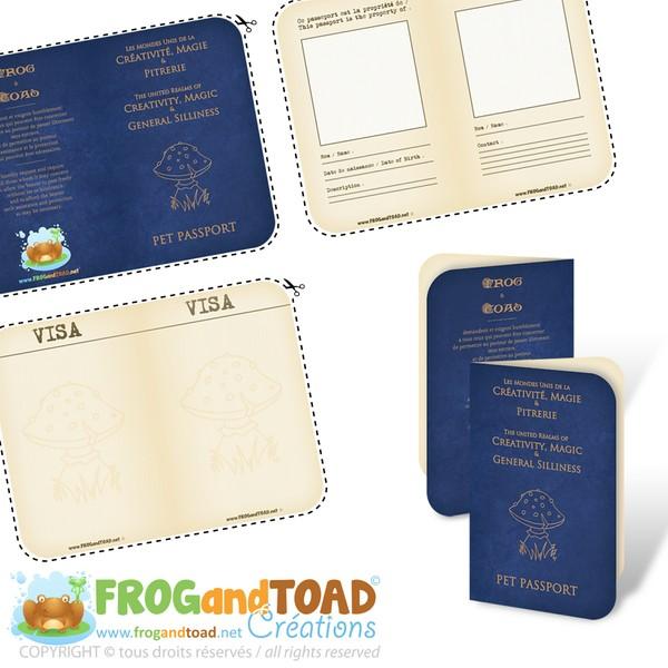 Passporte Peluche / Toy Passport
