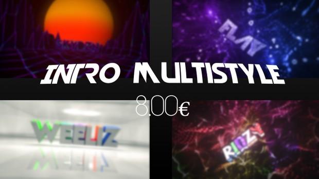 Custom Multistyle Intro | 8€