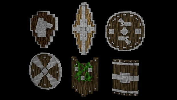 Minecraft Shield Pack