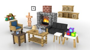Minecraft Furniture Pack 2