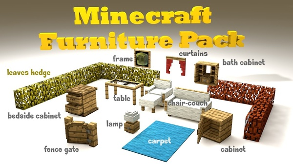 Minecraft Furniture Pack