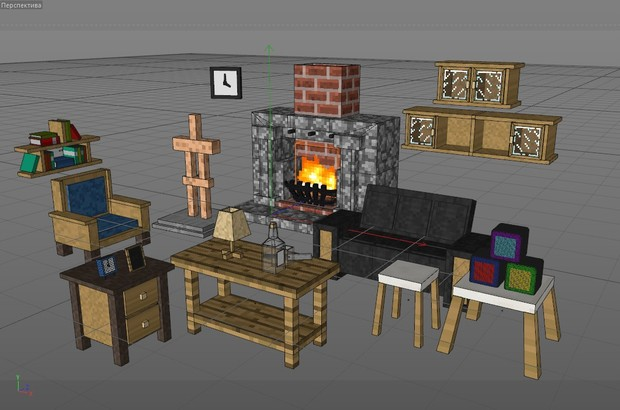 Minecraft Furniture Pack 2