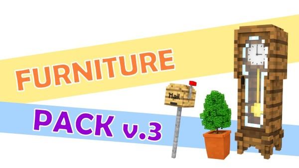 Minecraft Furniture Pack 3