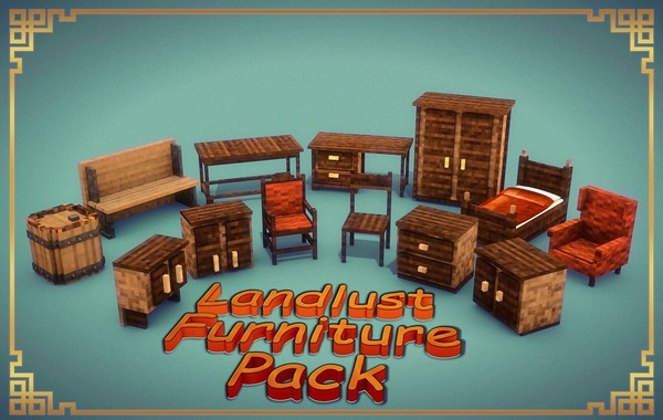 Landlust Furniture Pack [Cinema 4D]
