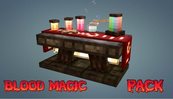 Blood Magic mod pack