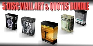 wall art & quote bundle vol 2