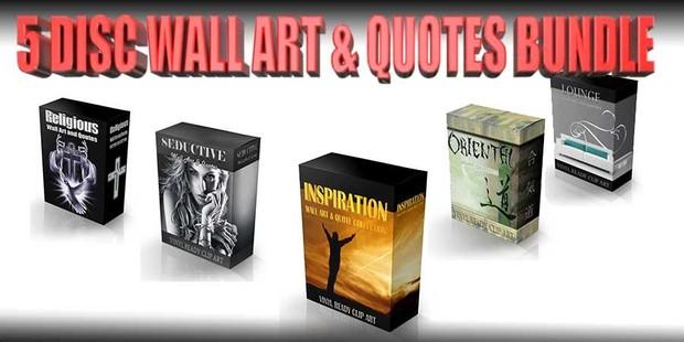 wall art & quote bundle vol 2